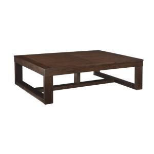 ashley-furniture-round-wood-coffee-table