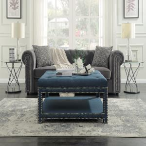 chic-home-blue-tufted-ottoman-coffee-table