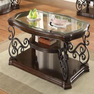 coaster-home-elephant-coffee-table-with-glass-top