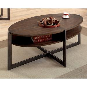 furniture-of-oval-coffee-table-rustic