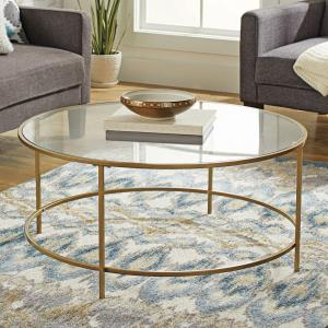 gold-square-glass-coffee-table
