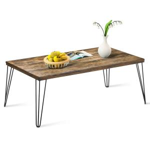 gymax-rectangular-rustic-industrial-square-coffee-table