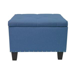 magshion-rectangular-blue-tufted-ottoman-coffee-table