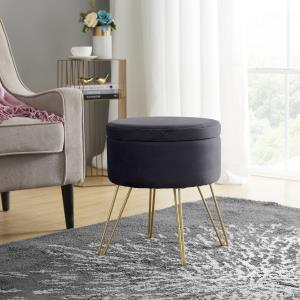 modern-round-gold-and-grey-coffee-table