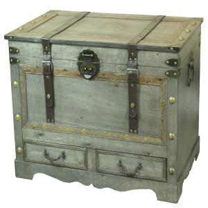 rustic-gray-storage-chest-trunk-coffee-table