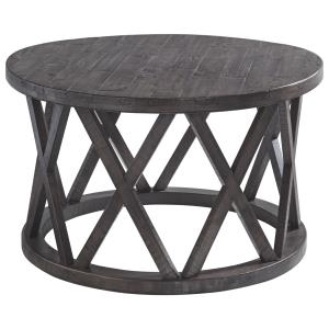 signature-design-ashley-furniture-round-wood-coffee-table-1