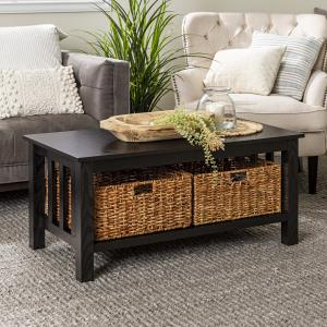 traditional-espresso-coffee-table-wood-top-black-legs