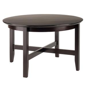 winsome-wood-round-coffee-table-espresso