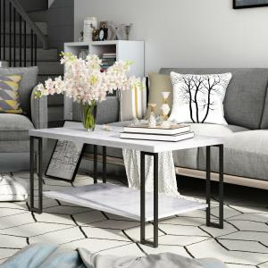 zimtown-2-best-coffee-table-for-sectional-couch